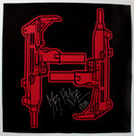 24X24 Mr. Hyde Machine Gun Logo H Poster (Signed) - $12.99