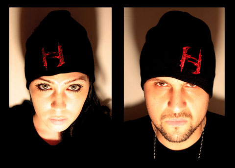 Mr. Hyde - Machine Gun H Logo Skull Cap - $14.95